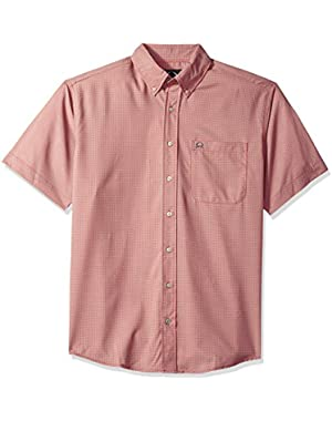 Men's Arenaflex Short Sleeve Button Print Shirt