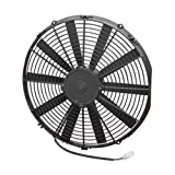 Spal 30101516 16'' Straight Blade Low Profile Fan