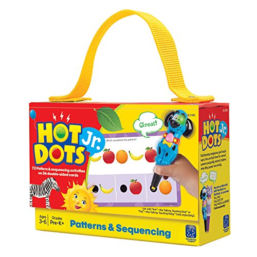- Educational Insights Hot Dots Jr. Card Set - Patterns & Sequencing