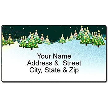 amazon com airplane christmas address label customized aviation