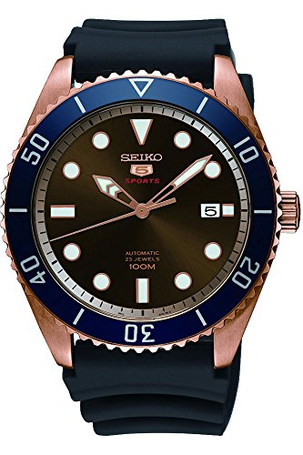 Seiko Series 5 Automatic Brown Dial Mens Watch SRPB96 ()
