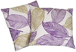 Best Selling Linen Frawns Pillow, 18-Inch, Set of 2