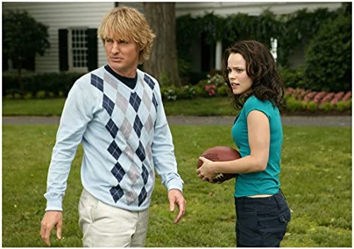 Wedding Crashers Owen Wilson As John With Rachel Mcadams As Claire Outside 8 X 10 Inch Photo At Amazon S Entertainment Collectibles Store