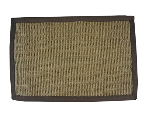 Long Tail Sisal Cat/Kitten Scratching Pad, Play Mat and Carpet | 15.75IN(W) X 23.62IN(L), Grey