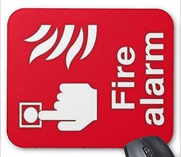 Alfombrilla para ratón con señal de Alarma de Incendios ...