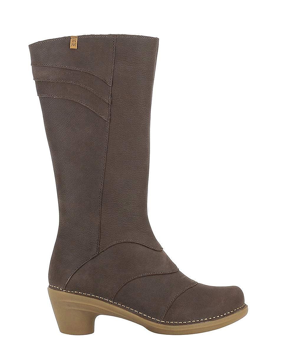 El Naturalista N5329 Pleasant braun Aqua Braun Damen Stiefel Mit Hoher Absatz Reissverschluss  | Vielfalt