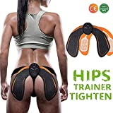 Ben Belle ABS Stimulator Buttock Toner EMS Electrical Hips Trainer Abs Trainer 6 Modes Smart Fitness Training Gear Home Office Ab Workout Equipment Machine
