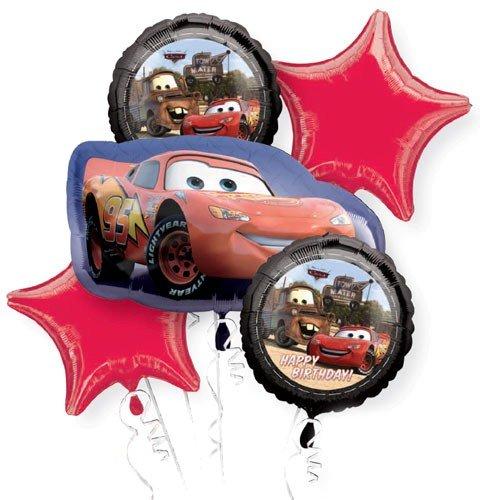 Amazon.com: Cars 2 Balloon Bouquet (MULTI, 1): Toys & Games