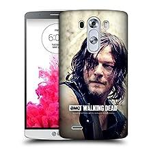 Official AMC The Walking Dead Half Body Daryl Dixon Hard Back Case for LG G3 / D855 / D850 / D851