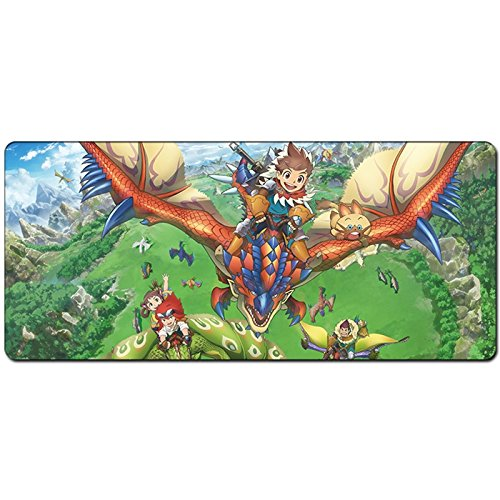 JINHONG XXL Professional Large Mouse Pat & Computer Game Mouse Mat (35.5x15.7x0.12IN Anime mouse pad)(RY003) by JINHONG