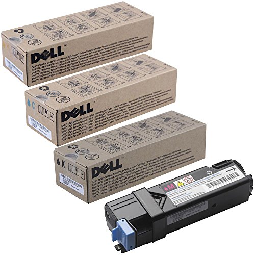 Dell FM064 High Yield Black with Standard Yield Color Toner Cartridge Set