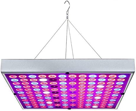 LED Grow Lights, Full Spectrum Panel Growing Lamp UV IR Plant Lights for Indoor Plants, Hydroponic Plant, Succulents, Seedlings, Vegetable and Flower 45w