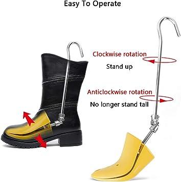 LUCKFY Chaussures pour Brancard Bottes embauchoirs r/églable Stretching Randonn/ée Bottes de Travail Professionnel pour Chaussures Brancard Femmes et Les Hommes,Small Size