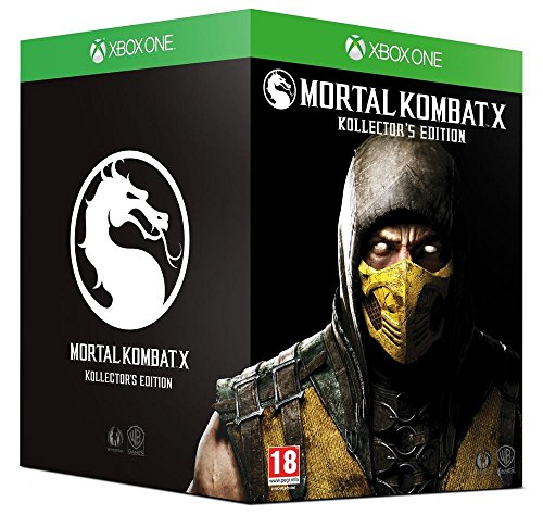 French European Version ~ Mortal Kombat X Kollector's Import Edition - XBOX ONE ~ All Written Content is in FRENCH (Kombat Mortal Edition Import X)