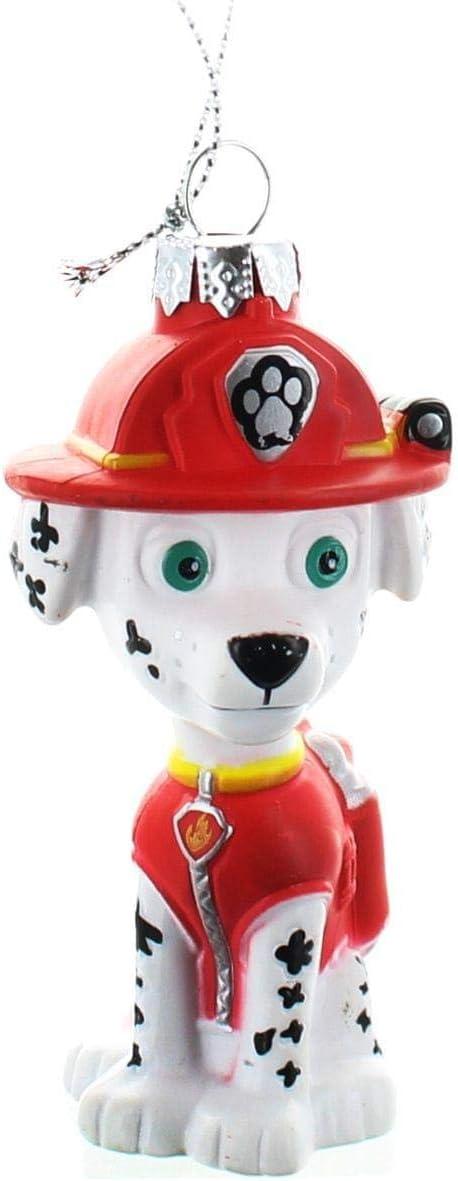 Kurt Adler Paw Patrol Marshall Dalmatian Firefighter Puppy Blow Mold Christmas Ornament