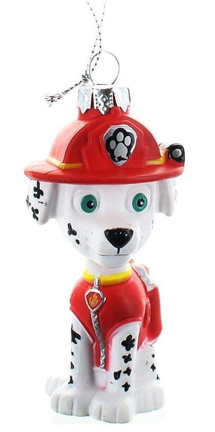 Paw Patrol Marshall dálmata bombero cachorro Blow molde adorno de Navidad