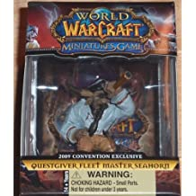 World of Warcraft Miniatures - Questgiver Fleet Master Seahorn - 2009 Convention Exclusive