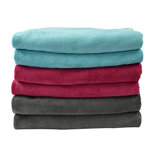 Microfiber Absorbent Non Slip Assorted Burgundy product image