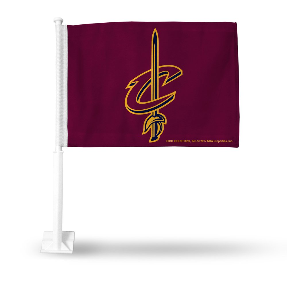 NBA Cavaliers Cleveland Car Flag Sports Fan Automotive Flags, Multicolor, One Size