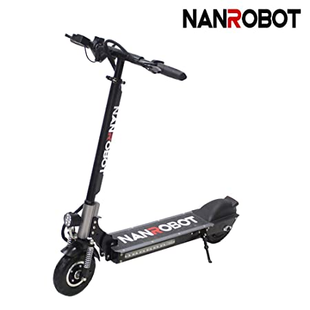 NANROBOT X4 8' 350W Motor Powerful Adult Electric Scooter Lightweight Foldable 20 Miles Long Range Speed 22 MPH
