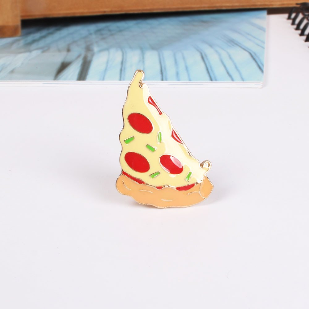 Onnea Enamel Brooch Pin Set Brooches Patches for Clothes/Bags/Backpacks (Fast food pin set) by Onnea fashion (Image #5)