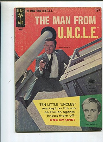 The Man From U.N.C.L.E. #5 Very Good 1966 The Ten Little Uncles Affair (Uncle Sa)