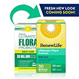 Renew Life Ultimate Flora Daily Care, Probiotic, 30 Billion Capsule, 30 Count