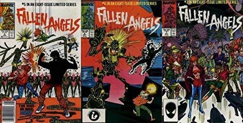 Fallen Angels #5-7 (1987) Limited Series Marvel Comics - 3 Comics
