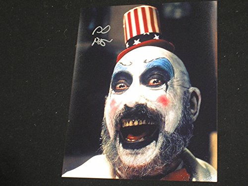 SID HAIG Signed 8X10 Photo The Devils Rejects Captain Spalding A ()