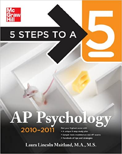 5 Steps to a 5 AP Psychology, 2010-2011 Edition (5 Steps to