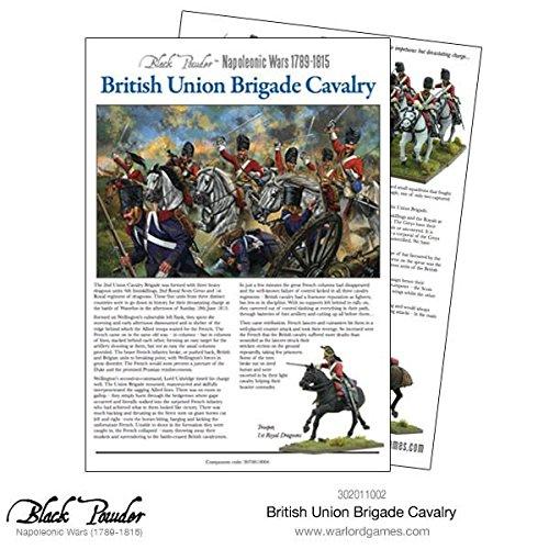 British Napoleonic Union Brigade Cavalry Warlord 1002 12x