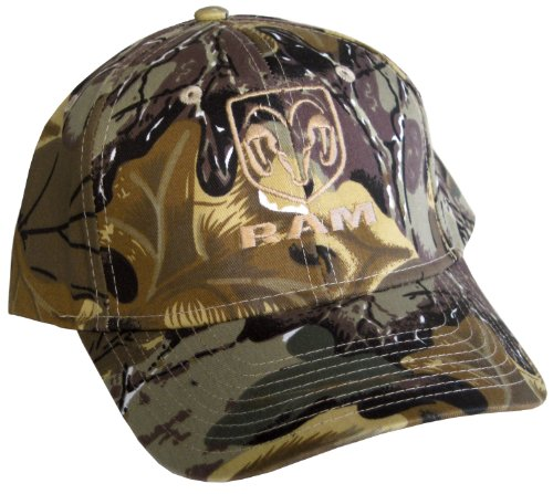 Gregs Automotive Dodge Ram Camo Camouflage Hat Cap Racing Decal Included