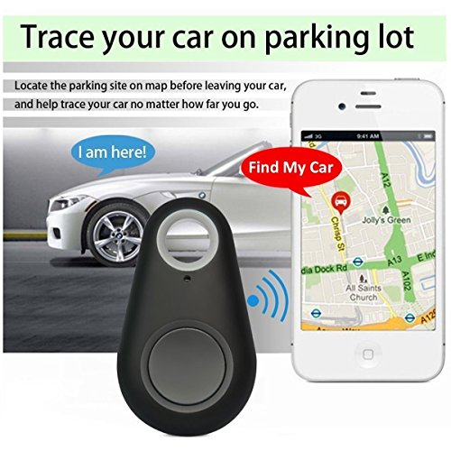 Smart Bluetooth Locator Wireless Tracker Anti-lost Alarm Finder for Key Wallet Car Kids Dog Cat Child Remote Camera with Voice Recording SmartPhone iOS Android (Smart Finder 3pack) by bohongde (Image #4)