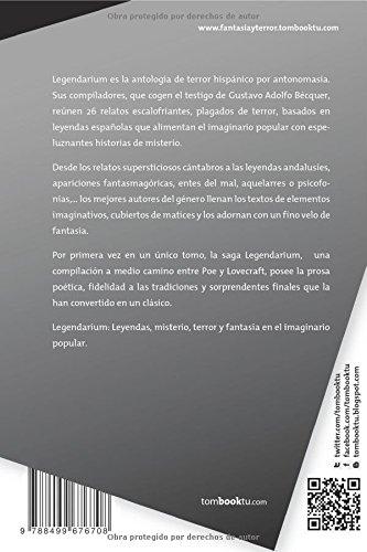 Legendarium (Spanish Edition): Javier Pellicer, Rubén Serrano: 9788499676708: Amazon.com: Books