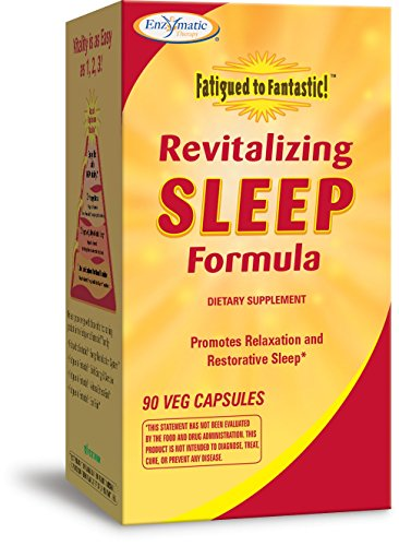 Enzymatic Therapy Revitalizing Sleep Formula, 90 Veg Capsules