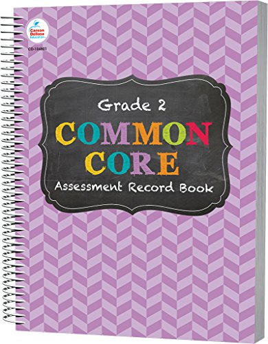Common Core Assessment Record Book, Grade 2