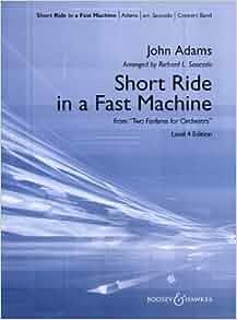 ride in a fast machine score