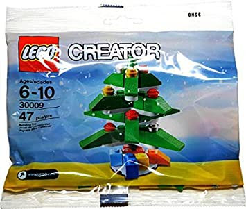 lego creator christmas tree set 30009