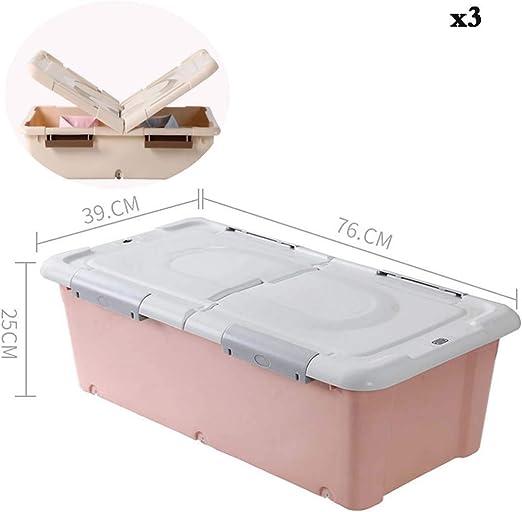 Caja de almacenamiento debajo de la cama KEKET1 Cajas de ...
