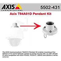 Axis 5502-431 Q6032-E Pendant Kit - Camera outdoor pendant mounting kit - white - for AXIS P5532, P5534, P5534 50, P5534 60, Q6032, Q6034, Q6035