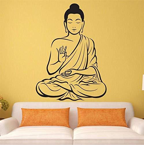 Eeemmm Buddha Statue Vinyl Wall Sticker Buddha Yoga Wall ...