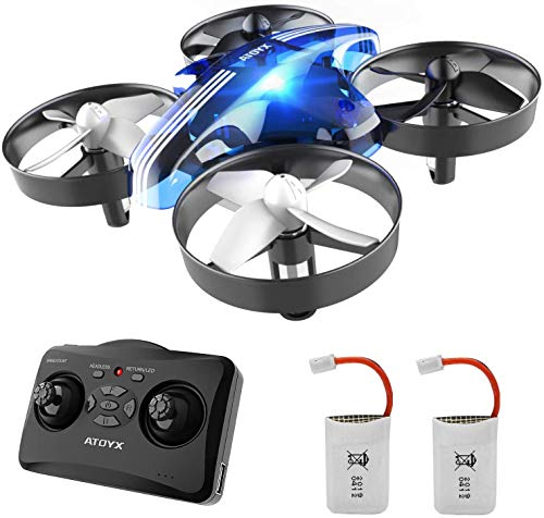 Drones for Kids – Mini Drones for Kids RC Drone, Equipped with 2.4Ghz 4CH 6-Axis Gyro , 3D Flip, 3 Speed, LED Lights…