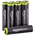 8Pk AmazonBasics AAA Rechargeable Pre-charged Batteries