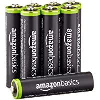 8-Pk. AmazonBasics AAA Rechargeable Pre-charged Batteries
