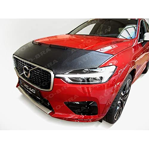 Cheap AB3-00283 CUSTOM CAR HOOD BRA for Volvo XC60 since 2017 Front End Nose Mask Bonnet Bra STONEGUARD PROTECTOR TUNING