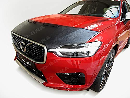 AB3-00065 CAR HOOD BRA for Volvo XC60 since 2017 Front End Nose Mask Bonnet Bra STONEGUARD PROTECTOR TUNING