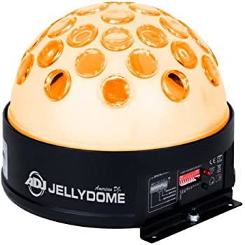 Amazon Com American Dj Supply Jelly Dome Led Powered