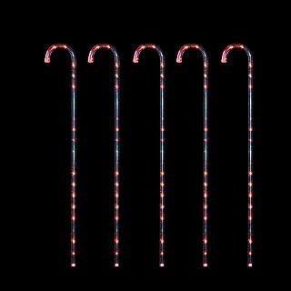 MoLiYanZi Accessoires de Danse Multicolore Coloré Danse du Ventre LED Cane Performance de Danse Bâton Glow 100cm