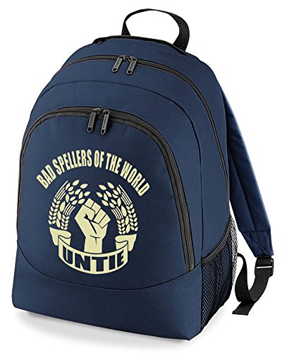 Untie World Unisex Backpack Shy Bag Bad Rucksack Dictionary The Navy Spellers Of wc8pBwqFIZ