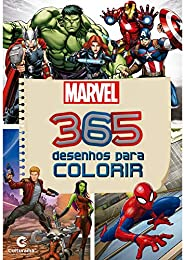 365 DESENHOS PARA COLORIR MARVEL